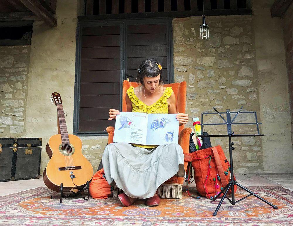 Le Canzoni Disegnate della Donna Albero, laboratorio per bambini, Festival della Narrazione Assisi