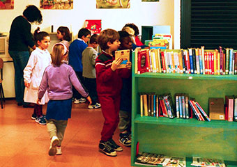 A library in every school - BIRBA offers consulting services to the schools