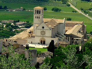 Basilica of St Francis of Assisi  - Venues of Birba Festival Storytelling in Assisi