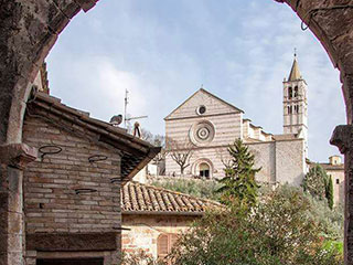Assisi alleys - Venues of Birba Festival Storytelling in Assisi